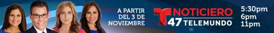 Telemundo 47 top banner