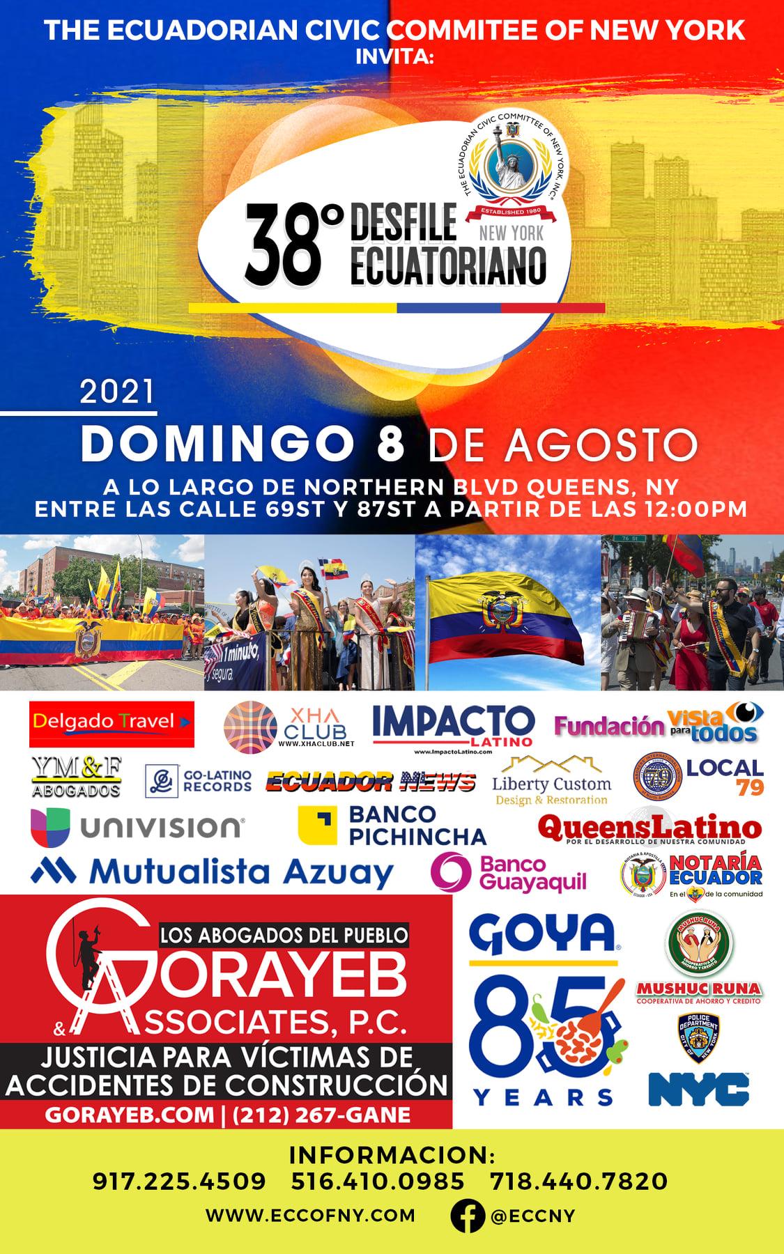 Desfile Ecuatoriano