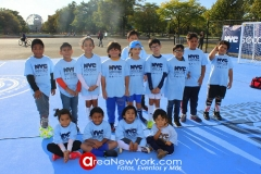 10-10-2019 New York City Soccer Celebrates New Mini-Pitch with Event in Flushing Meadows Corona Park