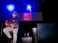 """17-03-2017 Santiago Cruz en Arka room con su show """"unplugged"""""""