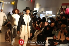 "02-09-2018 Runway Edwing D'Angelo NYFW FW18 ""Traveller's Time"" Collection"