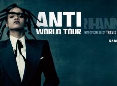 La súper estrella mundial Rihanna anuncia la gira The Anti World Tour.