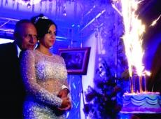 Productor artístico John Sepúlveda y Alba Arango se casaron en New York.